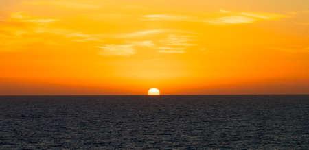 Spactacular evening Sunset background shot photo