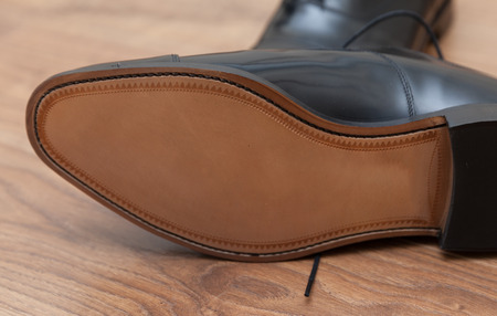 Expensive hand made leather business shoes