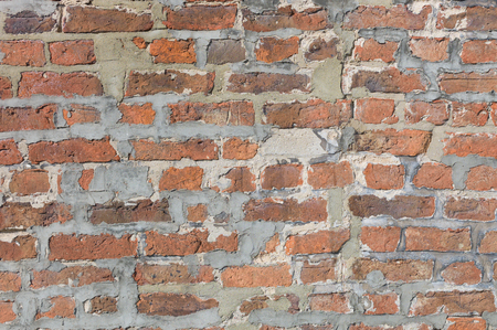 Worn brickwall background image Stock Photo
