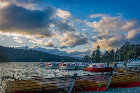 Lake District in the UK Stock Photo