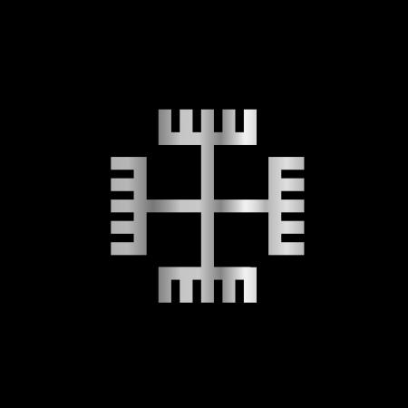 Hands of God, a symbol of Polish Neopaganism Stock Vector - 18349157