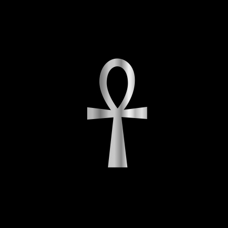 Symbol of Kemetism- Ankh Illustration