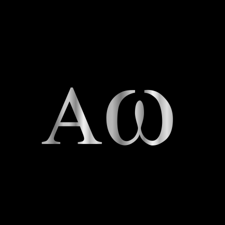 Greek Letter- Alpha and Omega