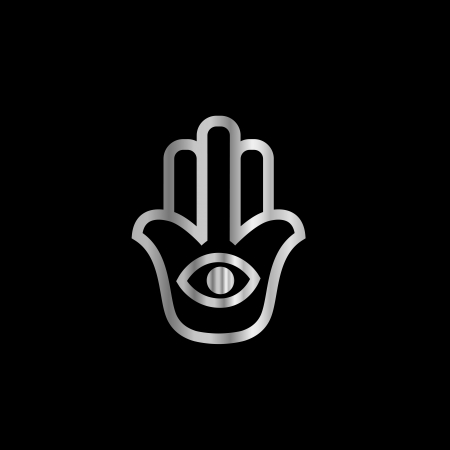 Fatima s Hand- Khamsa religious symbol