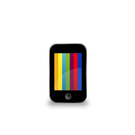Cellphone with color screen Vector