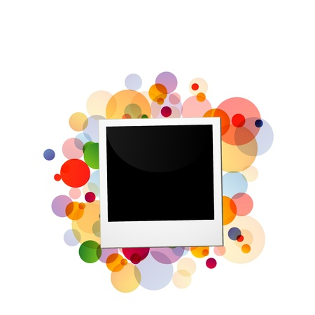 photo on a colorful background Stock Photo - 19332147