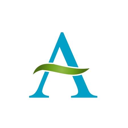 アルファベット A 葉を持つ