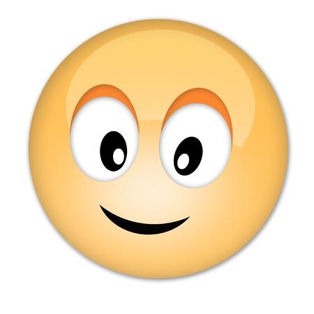 Happy smiley Imagens