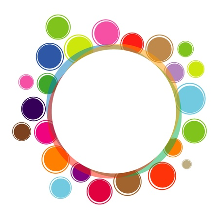 rainbow colours: Graphical design element