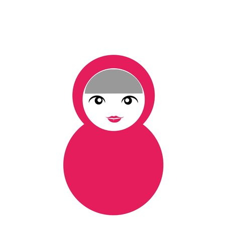 Matryoshka Doll Stock Illustratie
