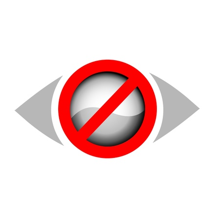 No vision Stock Vector - 19332157