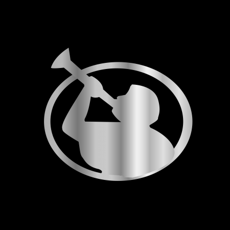 mormon: Angel Moroni- A symbol of Mormonism religion Illustration