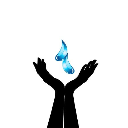 save water Stock Vector - 19396468
