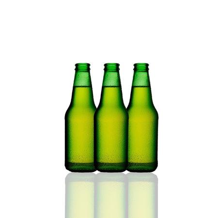fizz: green bottle