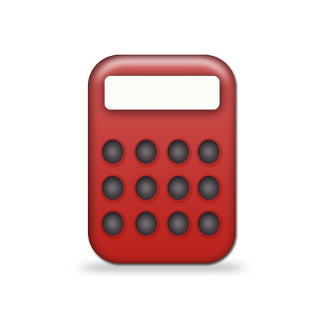 minicomputer: calculator Stock Photo