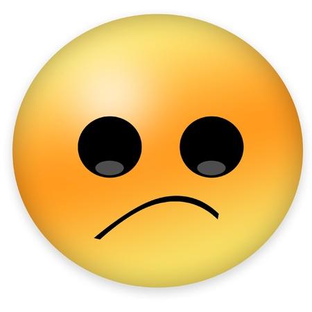 cheeks: feeling sad