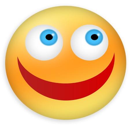 Happy smiley Stock Photo