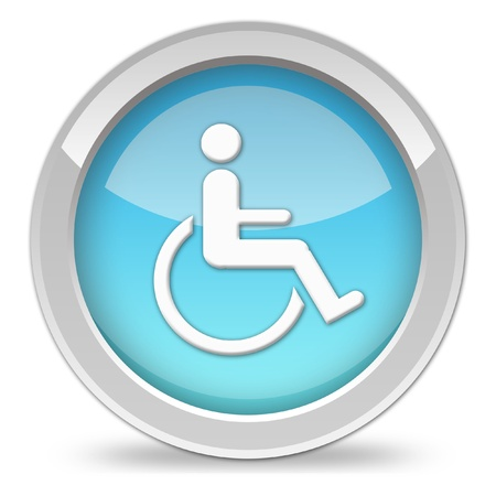 hospitalization: handicap icon
