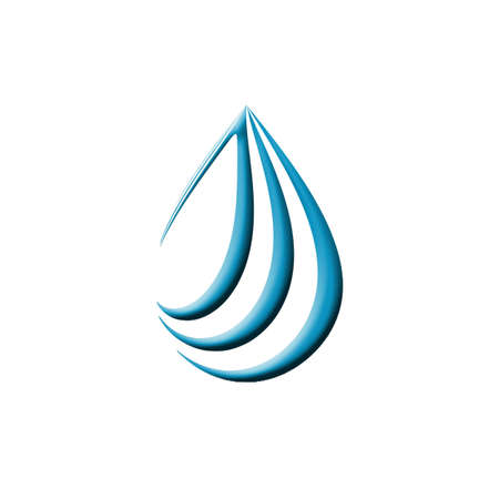 Mineral water icon photo
