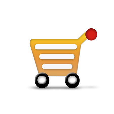 empty shopping cart icon photo