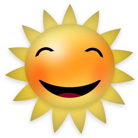 blushing: Morning sun blushing Stock Photo