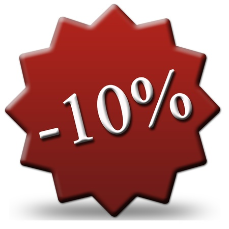 10 percent off photo