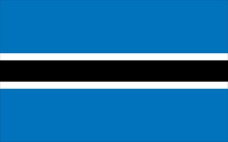 botswana: botswana flag