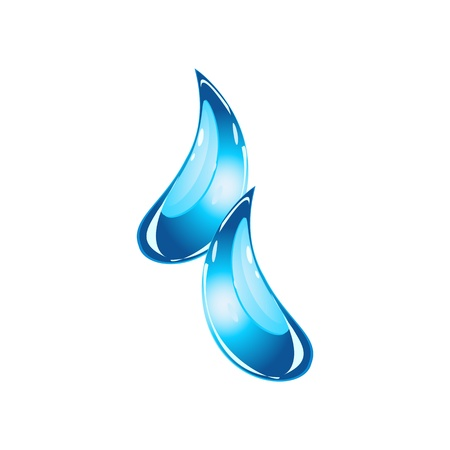Droplets Vector