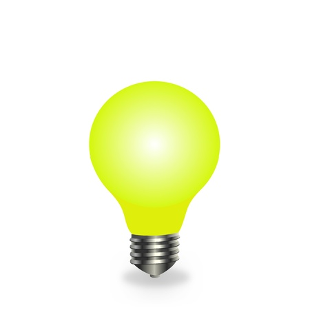 Incandescent lamp Vector