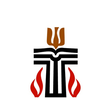 Symbol of Presbyterian religion  Vector