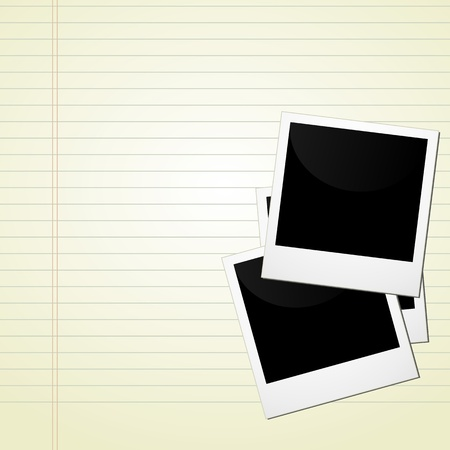 picture on notebook Stock Vector - 19864713