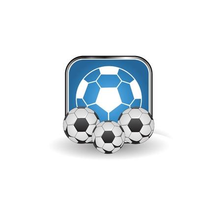 Fußball Standard-Bild - 19864899