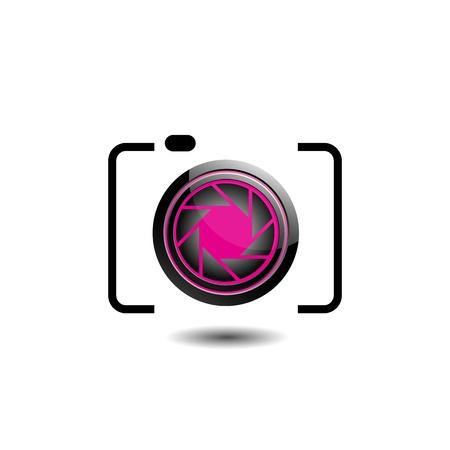 hotshot: Photographic icon Illustration