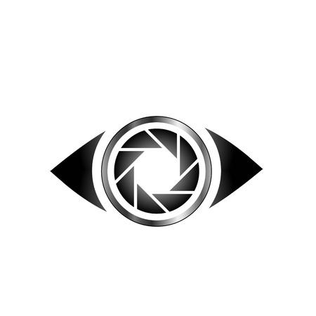 眼球スナップショット ロゴ