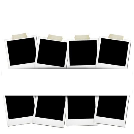 polaroids: Polaroids Illustration