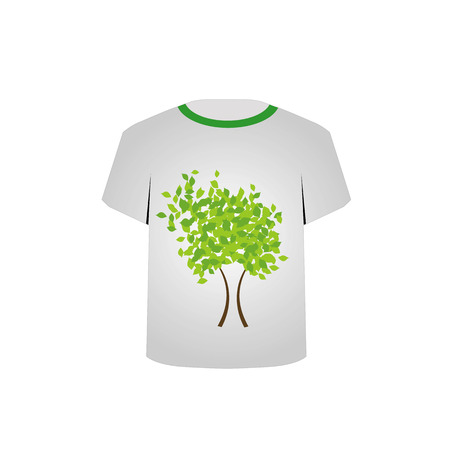 T Shirt Template- Spring tree Stock Vector - 22719452