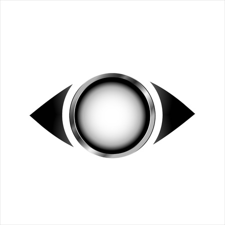 oversee: The concept of vision Illustration