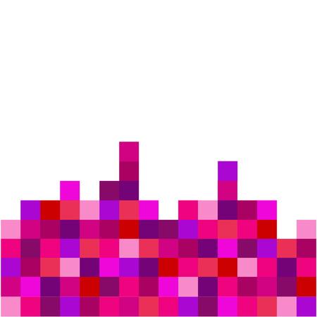Pixel art background Illustration