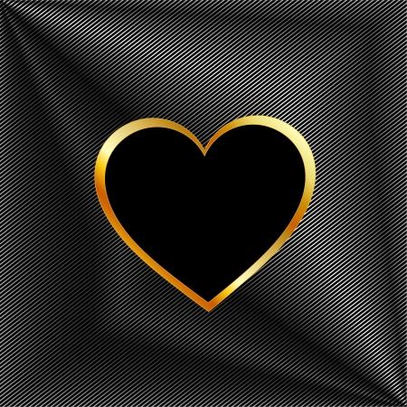 Heart shaped text box Vetores
