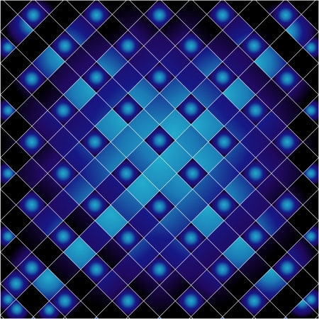 Blue grid background Stock Vector - 23378081