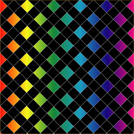 Colorful grid background Stock Vector - 23378085