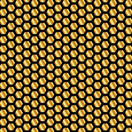 Golden bijenkorf achtergrond