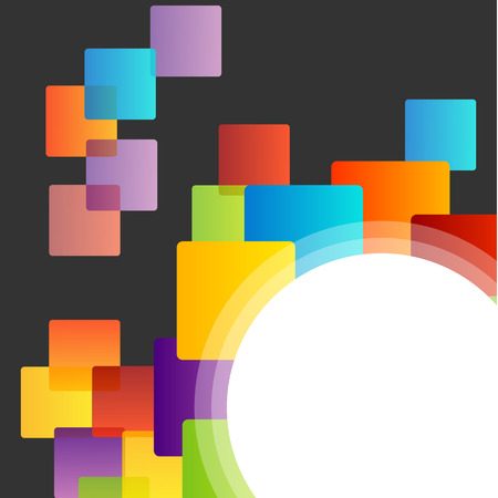 opt: Background with colorful boxes