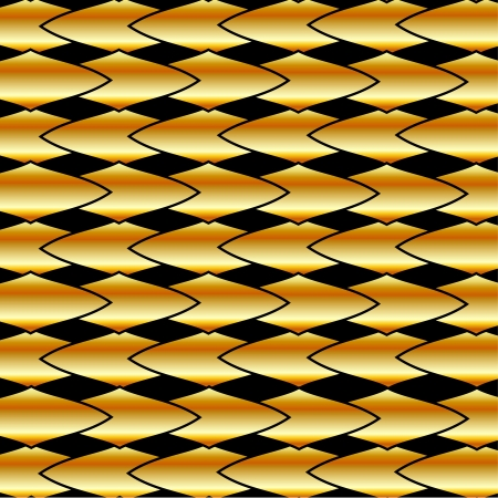 Gold fractal background  Gold fractal background Vector