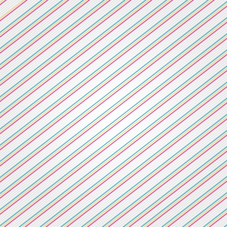 hypnotise: Rainbow colored pinstripe Illustration