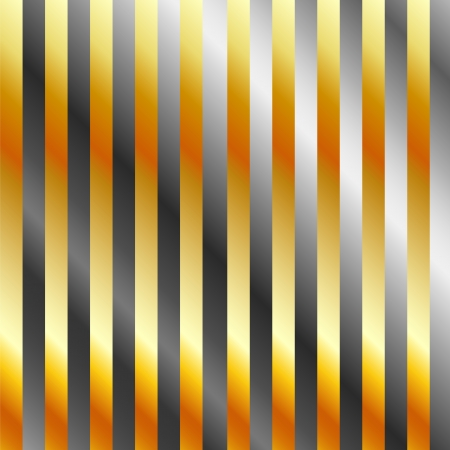 Gold and silver metal background Stock Vector - 23517402