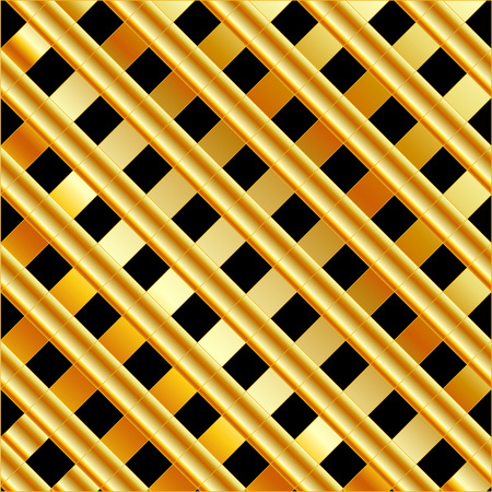 aurum: High grade gold metal background Illustration