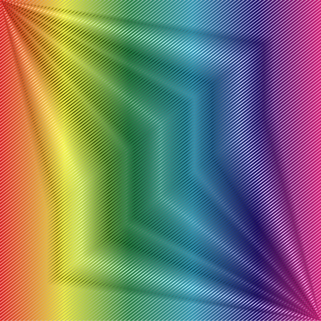 hypnotise: Colorful Pinstripe background Illustration
