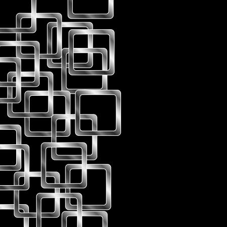 parallelogram: Fondo con los cuadrados de plata