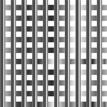 High grade stainless steel bars background Stock Vector - 23669918